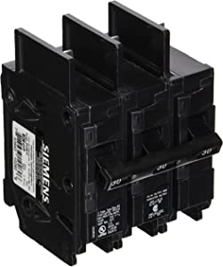 Siemens BQ3B030 30-Amp Three Pole 240-Volt 10KAIC Lug Out Breaker, COLOR