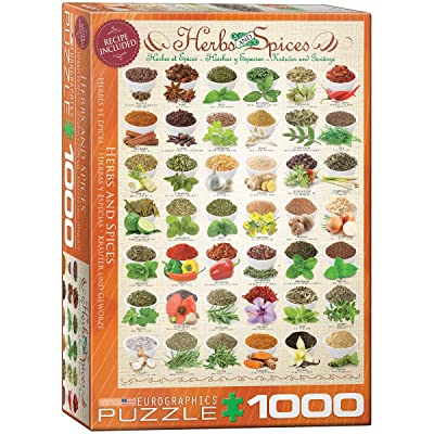EuroGraphics Herbs and Spices Puzzle (1000-Piece): Toys & Games