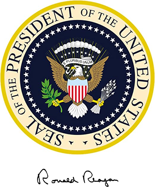 President Barack Obama Portrait Presidential Seal 11 x 14 Photo Photograph