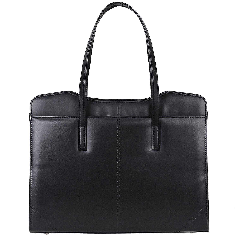 Jack&Chris PU Leather Women Handbag Briefcase Business Tote Messenger Bag Laptop Bag,WBYX038