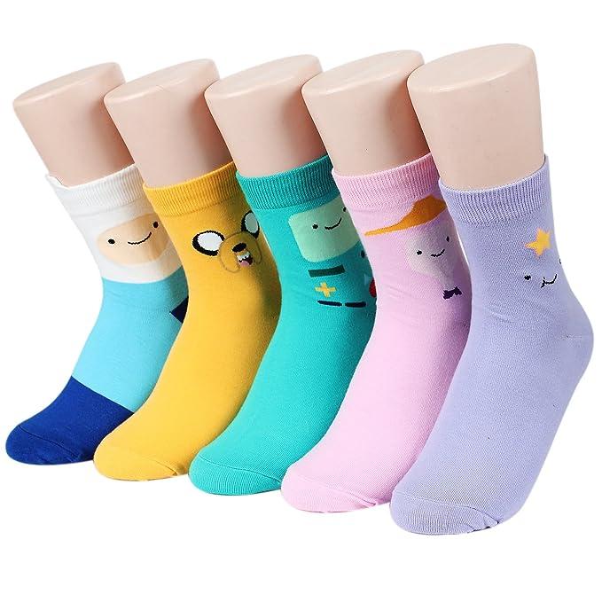 4f94d47a34 Kiss socks Socksense Animation Character Disney Series Women s Original  Socks (Adventure Time(Basic)