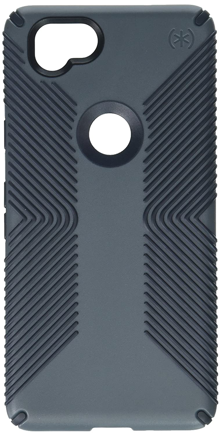 buy online d1c02 925c8 Speck Products Presidio Grip Cell Phone Case for Google Pixel 2 - Graphite  Grey/Charcoal Grey