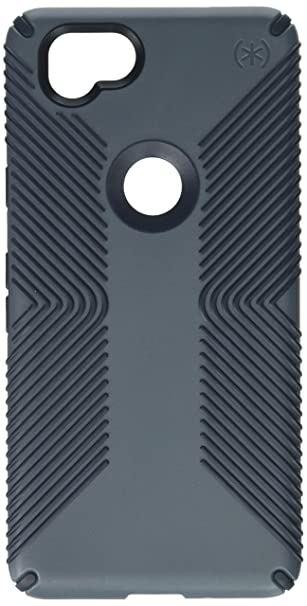 buy online 6cec2 e8453 Speck Products Presidio Grip Cell Phone Case for Google Pixel 2 - Graphite  Grey/Charcoal Grey