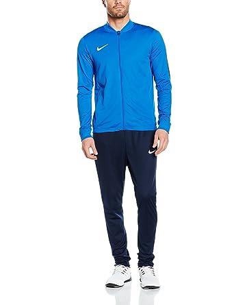 1275ea29a896ce Nike Academy16 Knit Tracksuit, Blue/Black/White, Small