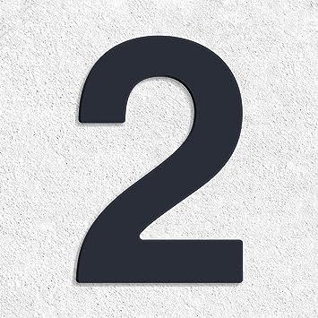 Hausnummer Anthrazit edelstahl hausnummer thorwa design va edelstahl hausnummer