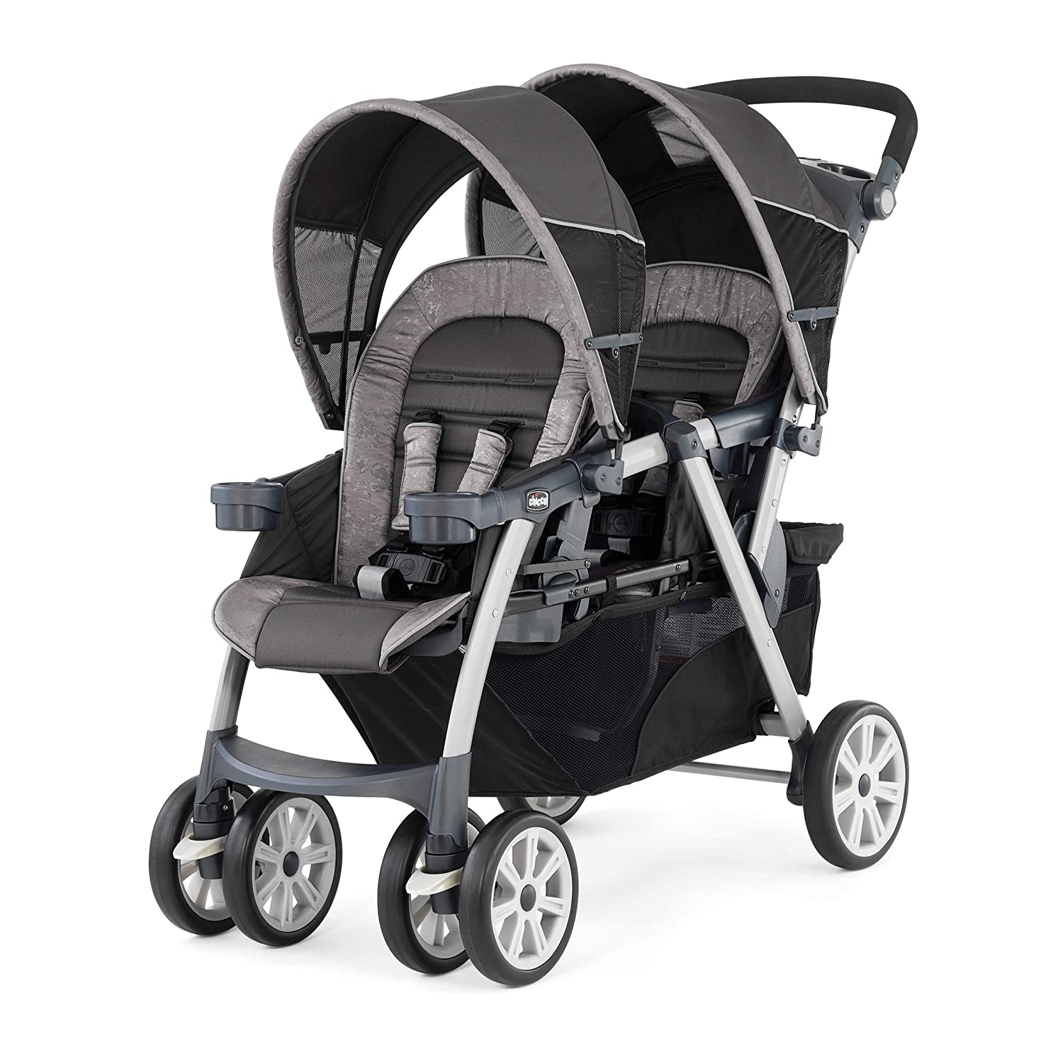 Chicco Cortina Together Double Stroller Meridian Brown
