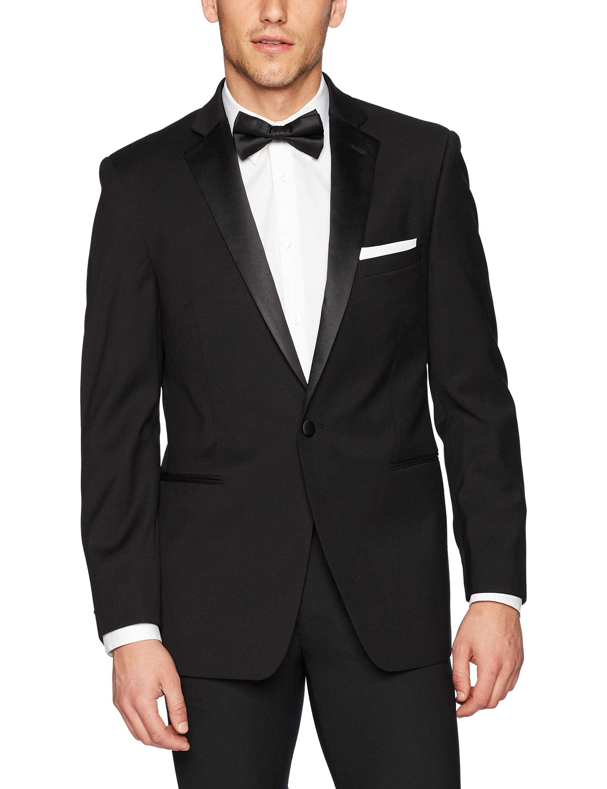 U.S. Polo Assn. Men's Tuxedo Jacket, Black, 42 Regular