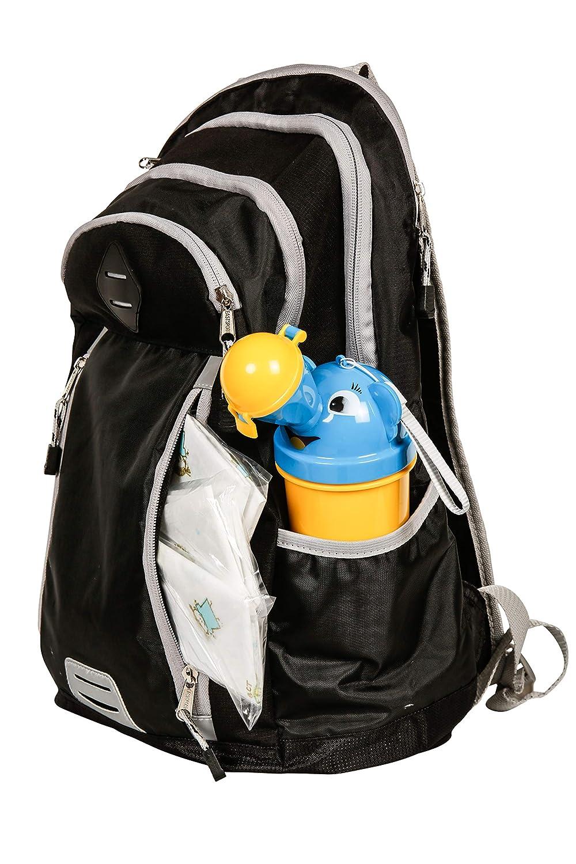 Olzenni Orinal de Botella para Ni/ños Port/átil para Viajes Entrenamiento para ir al Ba/ño con Cubreasientos Desechables de Inodoro para Ni/ño Peque/ño