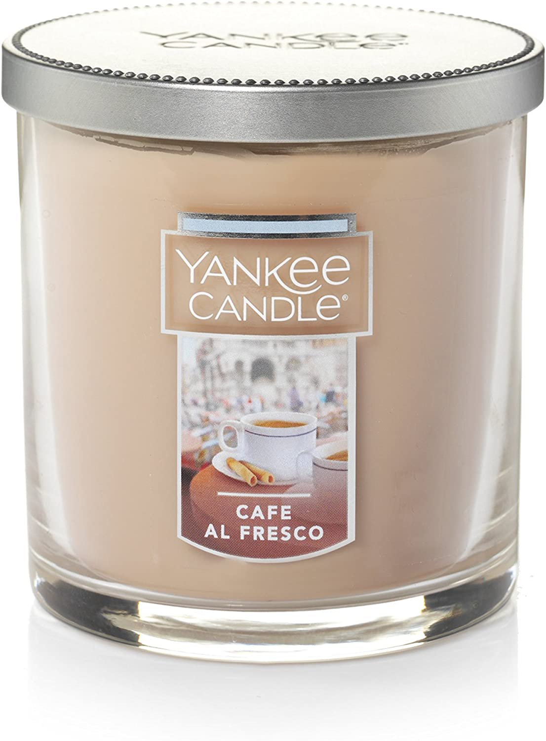 Best Scented Candles During Winters Yankee Candle Small Tumbler Candle, Café Al Fresco: Home &  Kitchen