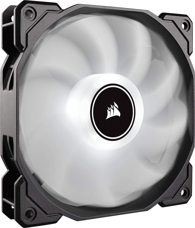 Corsair Air AF120 LED Carcasa del Ordenador Enfriador - Ventilador de PC (Carcasa del Ordenador, Enfriador, 1260 RPM, 1540 RPM, 26 dB, 52 cfm)
