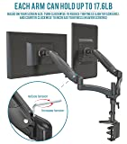 Dual Computer Monitor Stand Arm Mount Adjustable