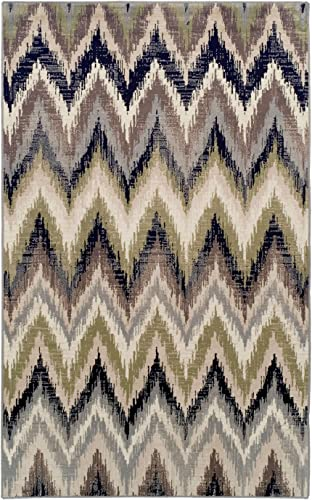 Superior Zigzag Area Rug Collection 5X8
