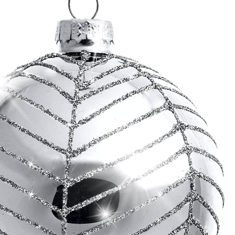Ausgefallene Christbaumkugeln.Sikora 4er Set Ausgefallene Christbaumkugeln Highlights Aus Glas