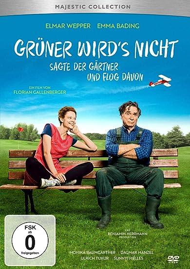 Cover: Grüner wird's nicht, sagte der Gärtner und flog davon DVD, circa 112 min