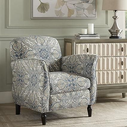 Amazoncom Madison Park Mp100 0375 Escher Accent Chairs Hardwood