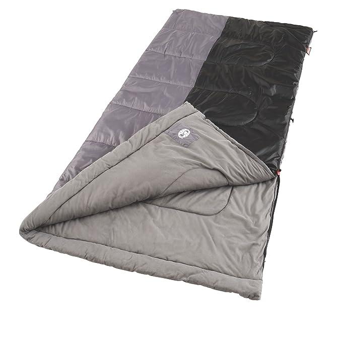 Coleman Biscayne 81 x 39 cm Rectángulo Saco de Dormir BLCK/Gris: Amazon.es: Deportes y aire libre