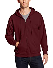 11620094bbb2 Hanes Men s Full-Zip EcoSmart Fleece Hoodie
