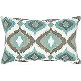 "Solaj Cotton Cushion Cover - 12"" x 18"", Multicolour"