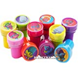 Trolls Dreamworks Character Authentic Licensed 10 Assorted Stampers Party Favors Goodie Bags Filler