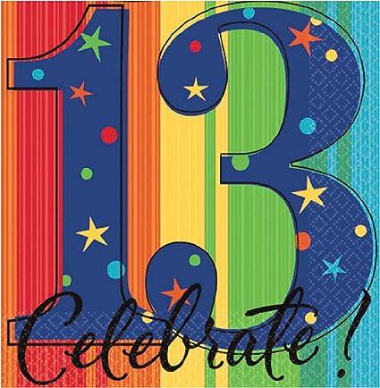 Amazon.com: Un año para celebrar 13th fiesta de cumpleaños ...