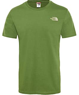 a4f0592e The North Face Men Simple Dome Short Sleeved T-Shirt: Amazon.co.uk ...