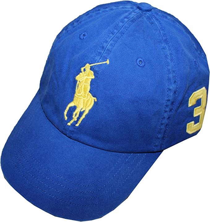 Hombres de Polo Ralph Lauren Big Pony – Gorra de béisbol chino ...