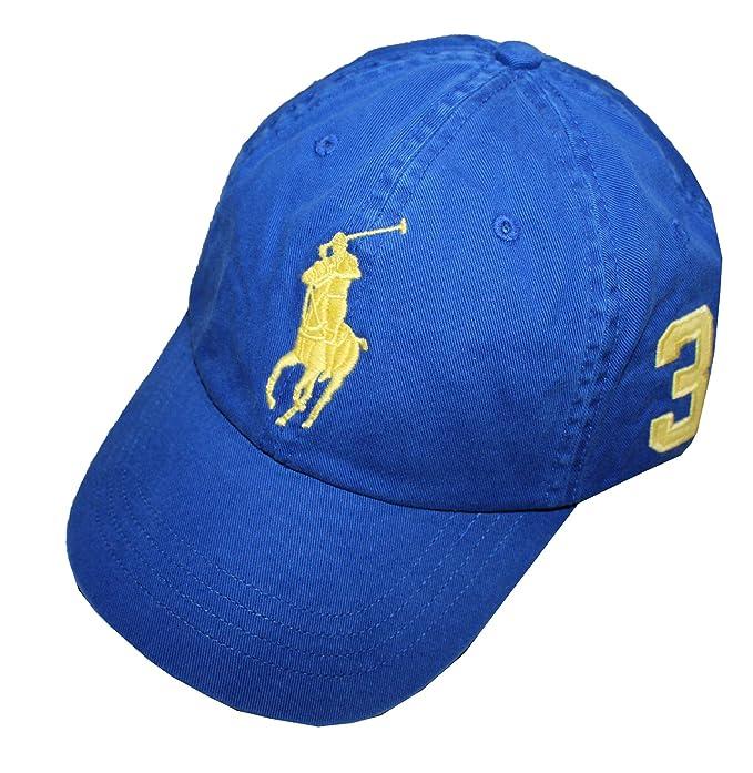 Polo Ralph Lauren Hombres Big Pony - Gorra de béisbol Chino: Amazon.es: Ropa y accesorios