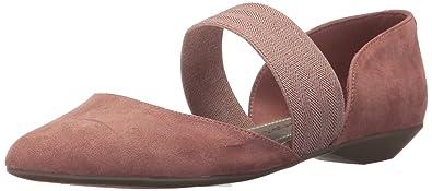 9b7446724aa5 Anne Klein AK Sport Women s ONDRIA Fabric Ballet Flat