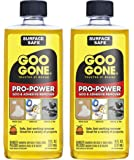 Goo Gone Pro-Power Adhesive Remover - 8 Ounce (2 Pack) - Use on Silicone, Caulk, Contractor's Adhesive, Tar, Adhesive…