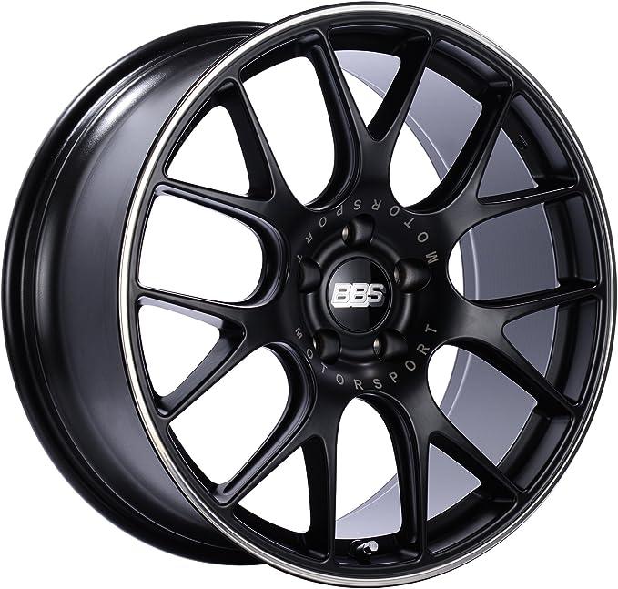 BBS 5/112 ET47 CH82,0 - Llanta de aluminio (8,5 x 18 mm), color negro mate y pulido: Amazon.es: Coche y moto