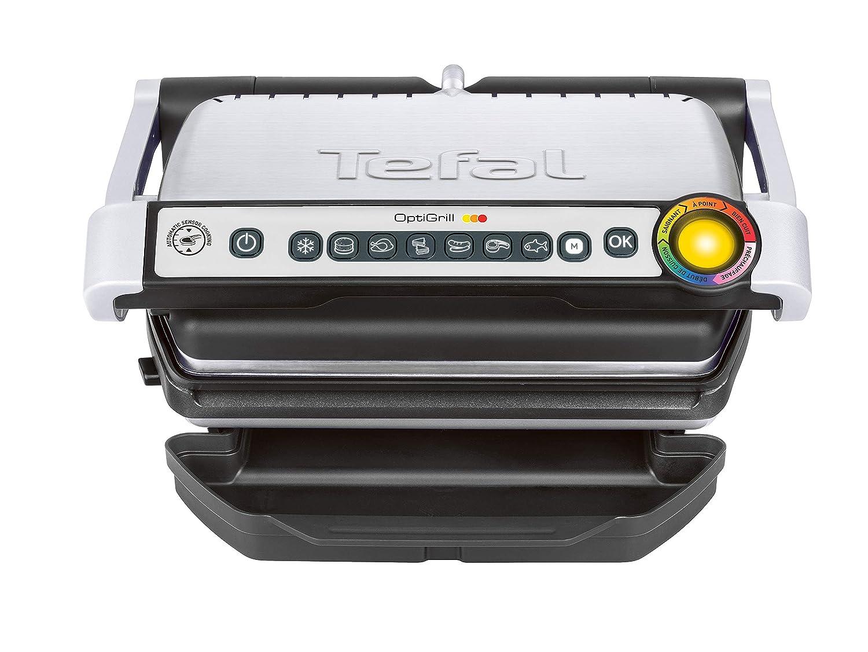 Tefal JS GC702D OptiGrill 2000 Inox bross/é