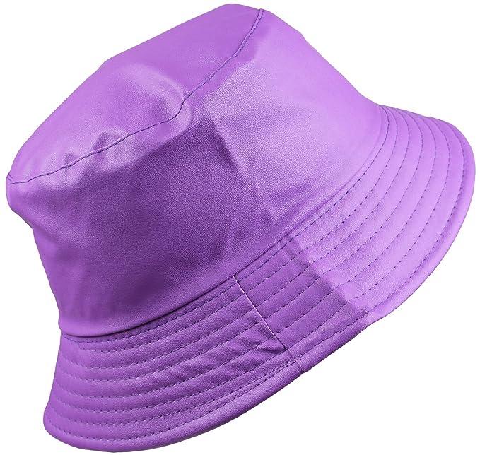 28d707d132571 BODY STRENTH Women s Bucket Rain Hat Wide Brim Waterproof Light Purple