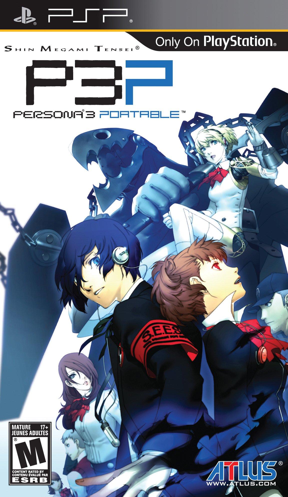 Shin Megami Tensei: Persona 3 Portable - Sony PSP by Atlus (Image #1)