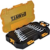 DEWALT DWMT73810 Tool Kit Metric Combination Wrench Set, 8 Piece