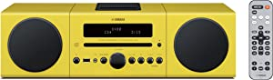 Yamaha MCR-042YL Desktop Audio System (Yellow)