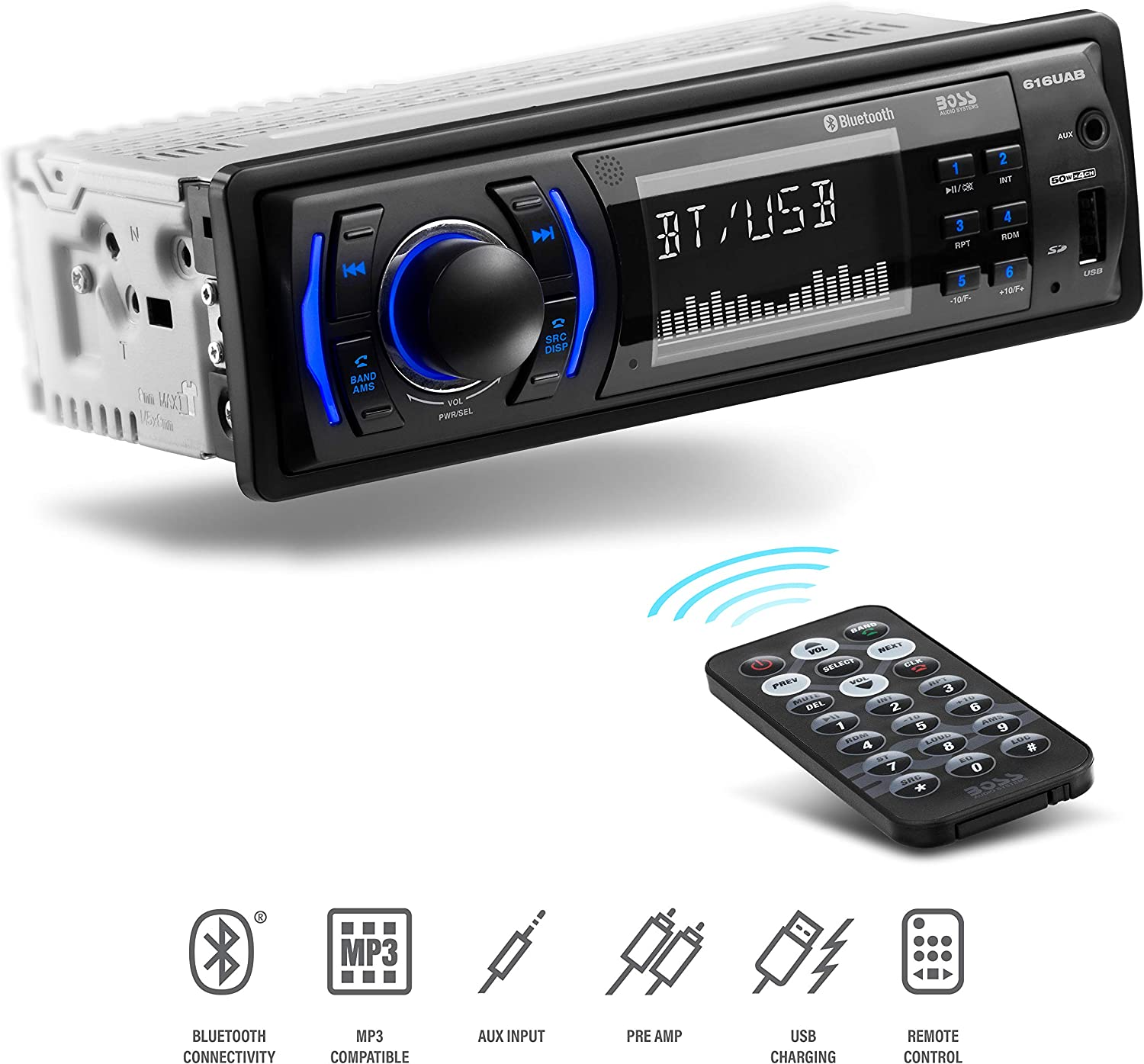 BOSS Audio Systems Multimedia Car Stereo