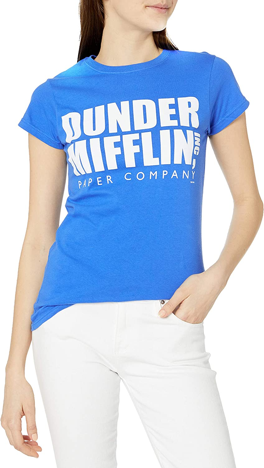 T-Line Juniors Dunder Mifflin the Office Graphic Tee