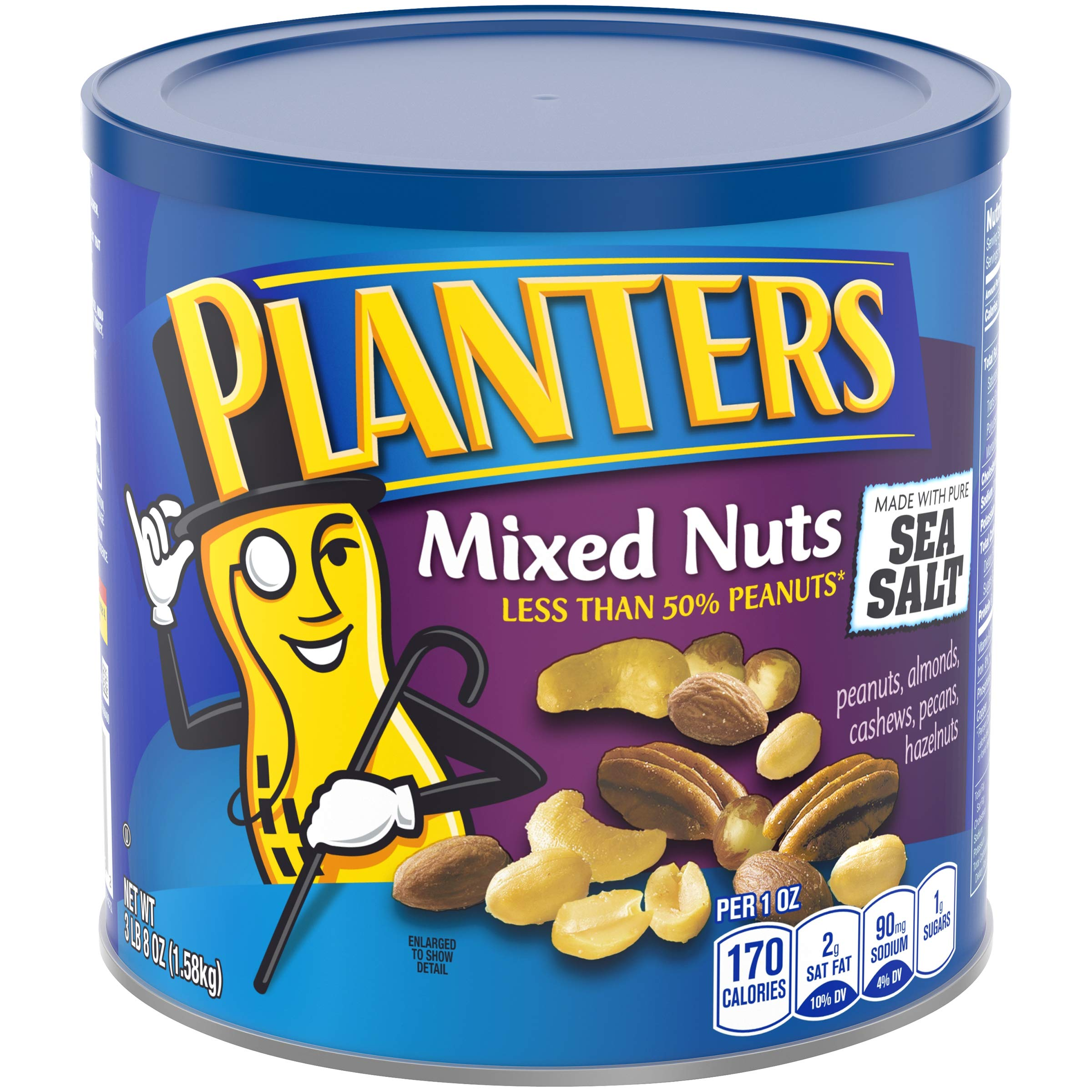 Planters Mixed Nuts Mixed Nuts Regular 56 oz Canister