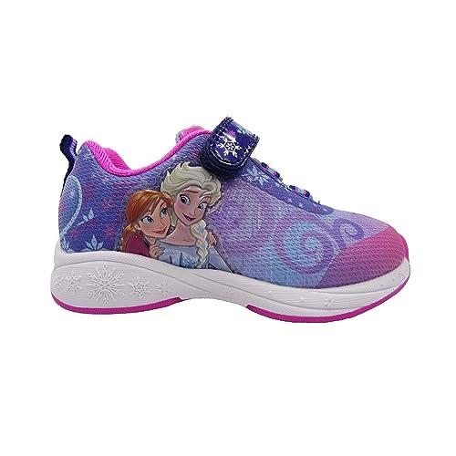 Sz Pink 6,7,8,9,10,11,12 Disney Frozen Anna /& Elsa Girls/' Sandal