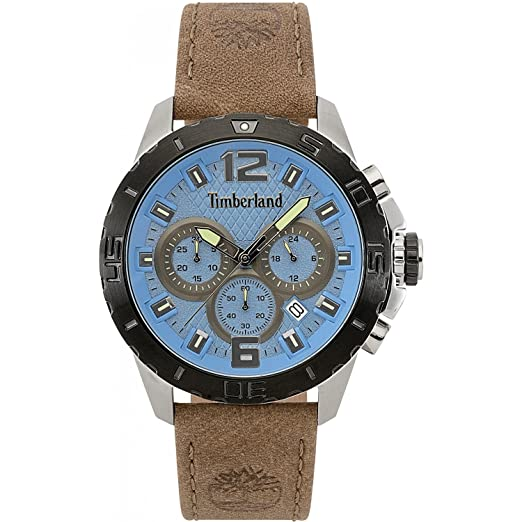Reloj cronógrafo para Hombre Timberland harriston Casual Cod. TBL.15356jstb/03: Amazon.es: Relojes