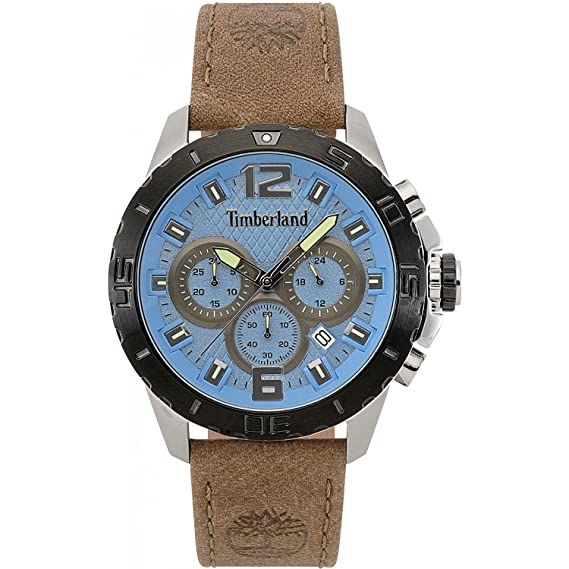 Reloj cronógrafo para Hombre Timberland harriston Casual Cod. TBL.15356jstb/03