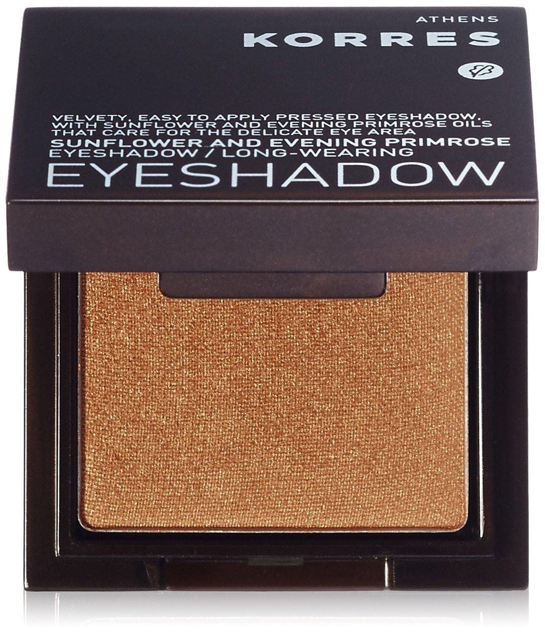 KORRES - Sombra de ojos Shimmering color oro bronce, 1.8 g KCC-SHI-F-1600184