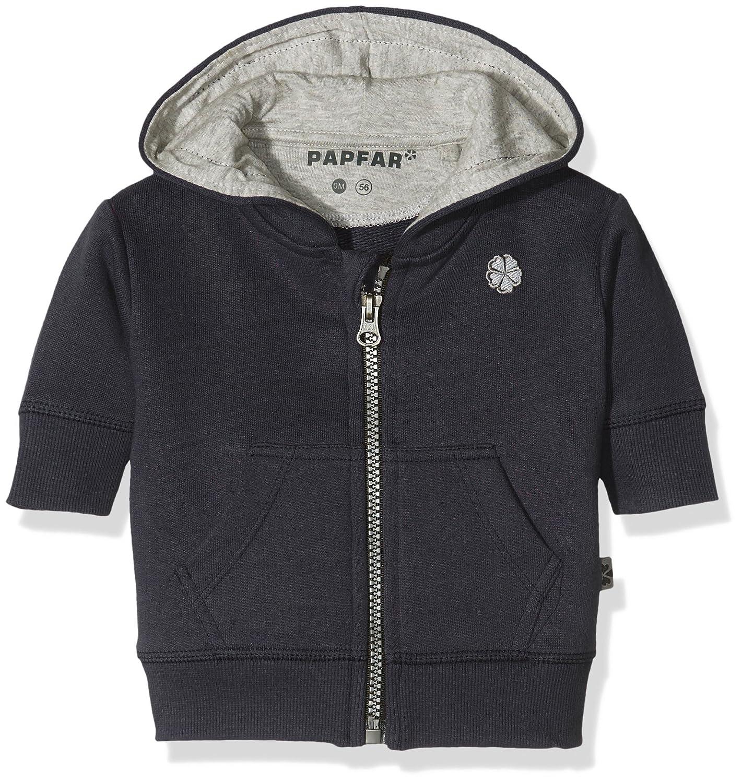 Papfar Baby-Jungen Strickjacke Sweatshirtjacke MELTON A/S 716383