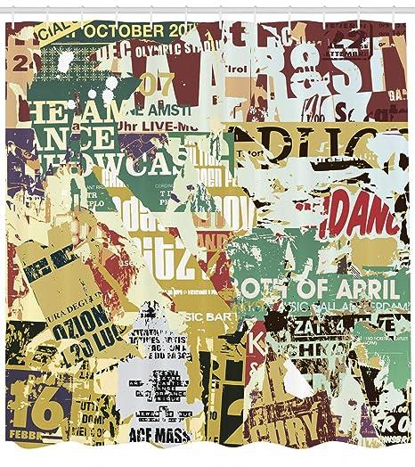 ajhgfjgdhkmdg Vintage Antiguo Cartel Poster desgarrado ...