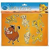 Lena 65792 - Zeichenschablonen Disney's König der Löwen