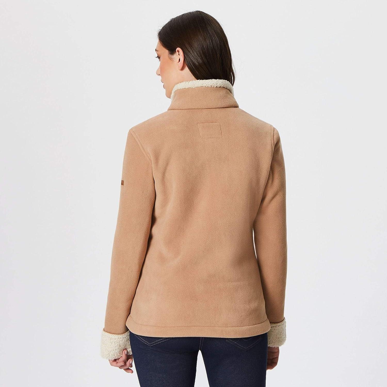 Regatta Womens Bernice Full-zip Faux Fur Micro Fleece