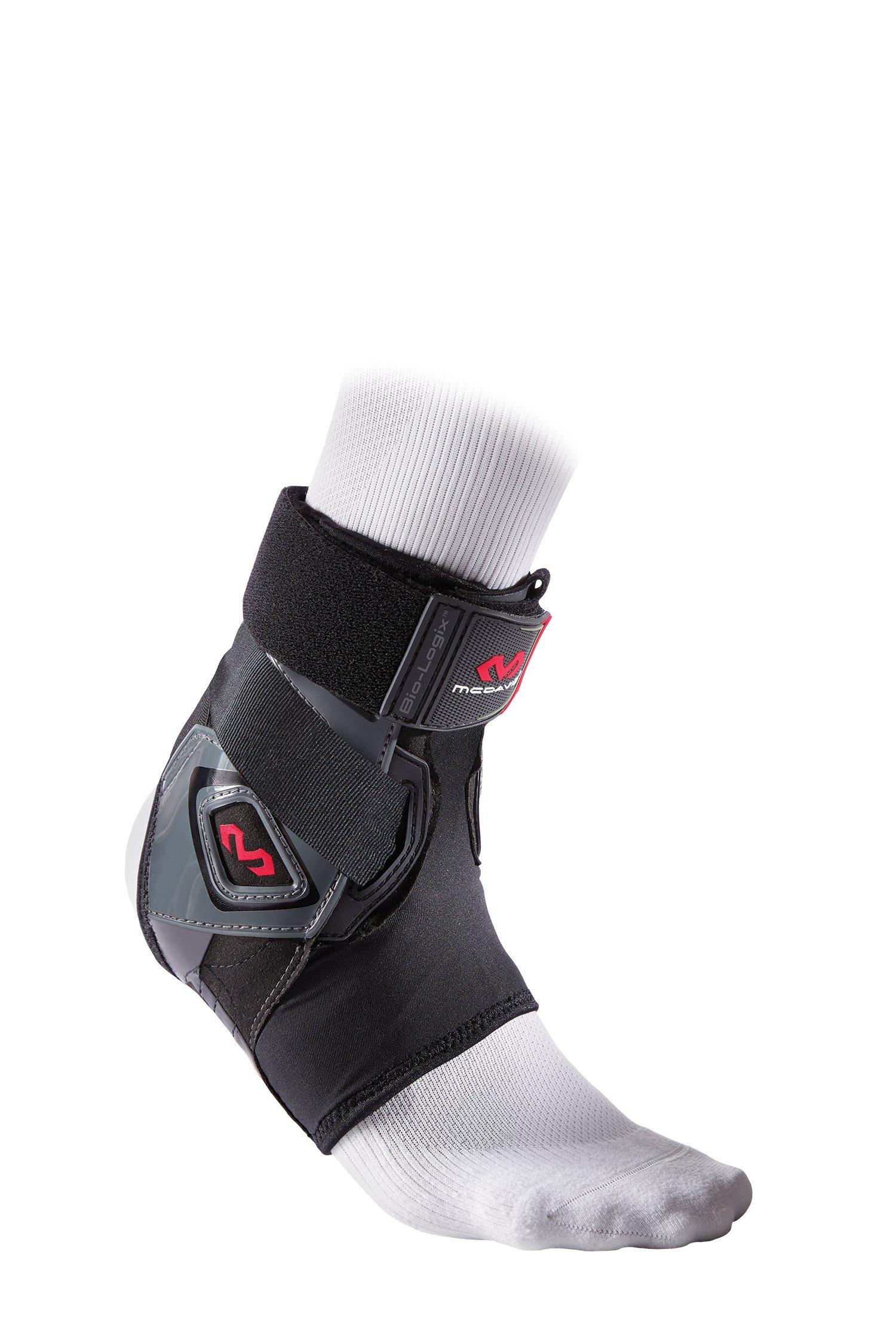 McDavid Bio-Logix Ankle Brace, Black, Medium/Large, Left