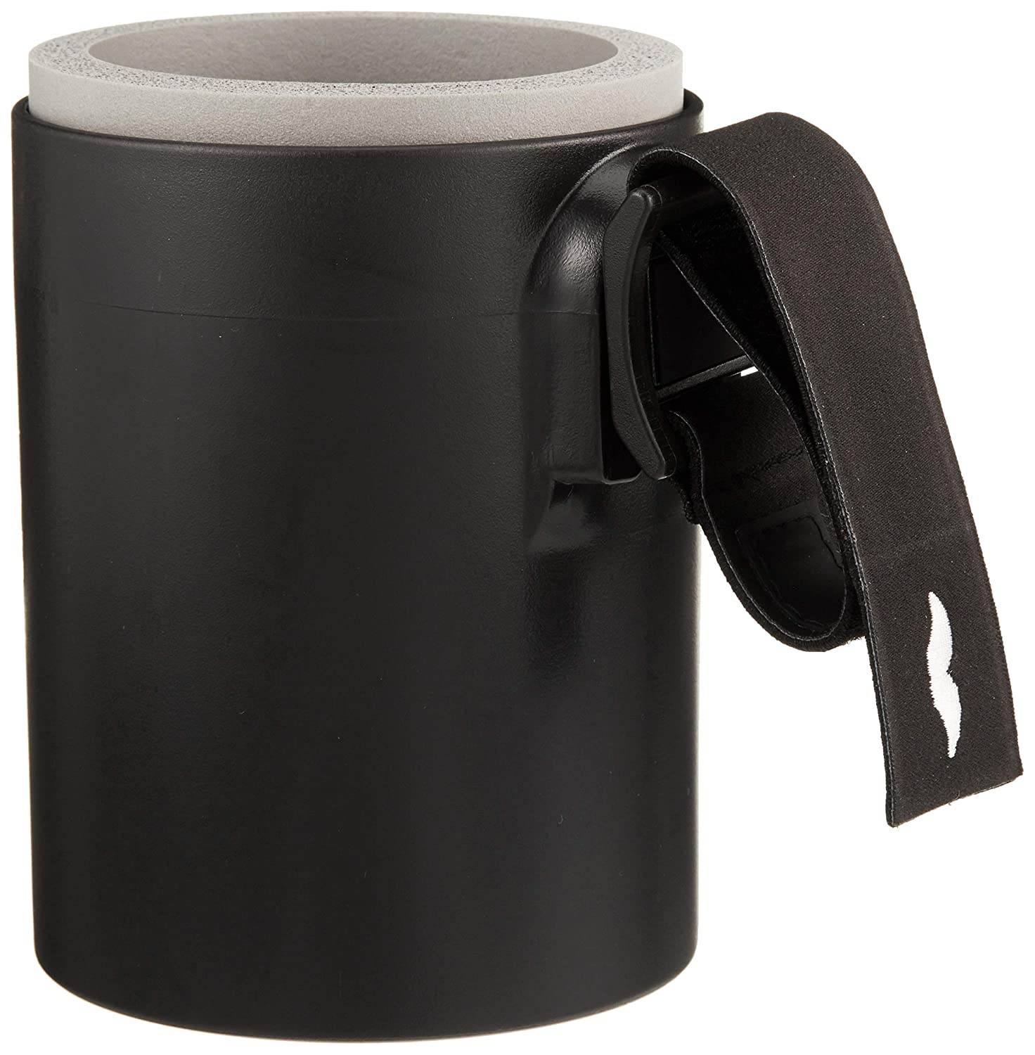 Dadding & Co. Original DaddieCaddie Cup Holder, Koozie Combo For Strollers, Golf Carts, Boats and Bikes – includes Mounting System – Discretely Holds 12 Oz. Beverage Cans for Happy Hour on the Go