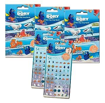begrenzter Stil beliebte Geschäfte Modestile Craze 56135 - Slap Snap Bands und Klebeohrringe, Disney Pixar ...