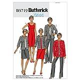 BUTTERICK PATTERNS B5719 Misses'/Women's